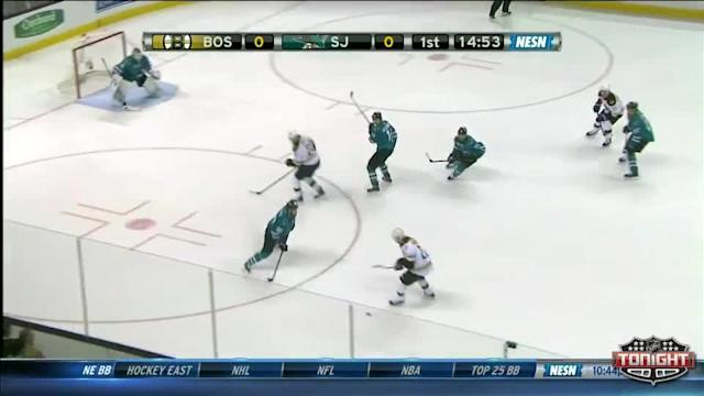 Boston Bruins at San Jose Sharks - 01/11/2014