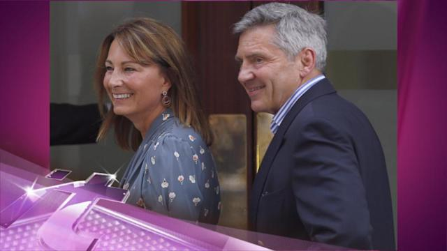 Entertainment News Pop: Time to Meet the Royal Baby! Kate's Parents Arrive at St. Mary's Hospital