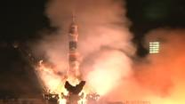Soyuz Rocket Lifts Off in Kazakhstan
