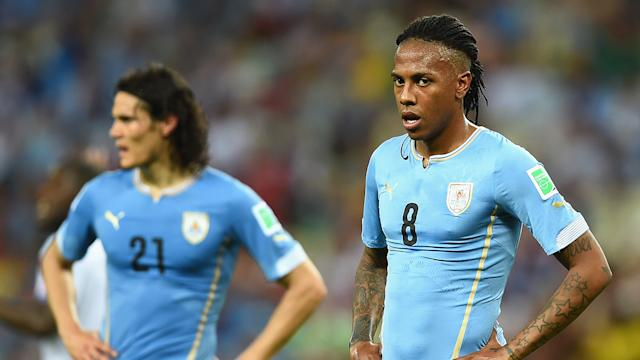 Uruguay's in trouble after Costa Rica loss