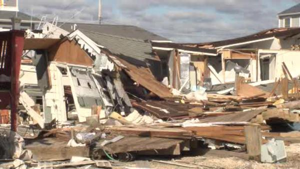 Tuckerton, NJ residents return to damaged homes
