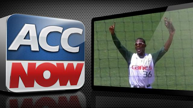 Miami Locks Up Top Seed in ACC Baseball Championship | ACC Now