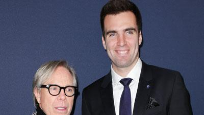 Flacco Makes Fashion Week Debut at Hilfiger