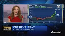 CBS earnings meet expectations with top line beat