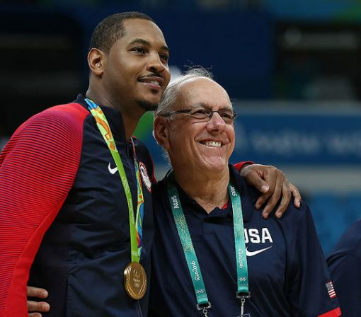 Jim Boeheim calls a championship run for Carmelo Anthony 'unlikely'