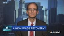 High-wage recovery?