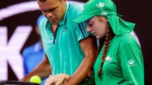 Sweet thank you card from ball girl to tennis pro Jo-Wilfried Tsonga goes viral