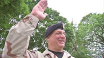 Wounded veteran grand marshal of Norwood Park parade
