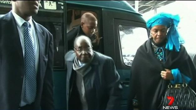 Mugabe in Rome despite travel ban