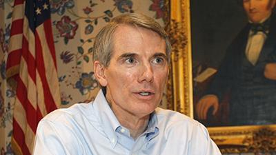 GOP Sen. Portman Changes Stand on Gay Marriage