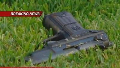 Gun Found After South Sac Chase