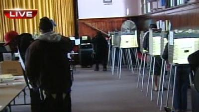 Voters Hit Polls On Election Day