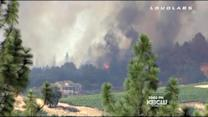 Yosemite Fires Force Evacuations, Burn Homes