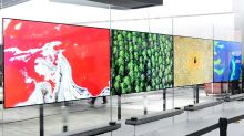 LG Electronics Shows Off Ultrahigh-Def 'Wallpaper' TV At CES