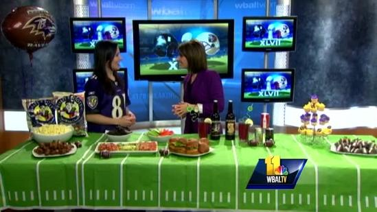 Healthy Super Bowl party foods that satisfy