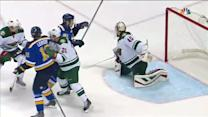 Tarasenko redirects Steen's shot past Dubnyk