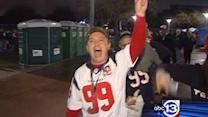 Texans fans pumped for round 2 of playoffs