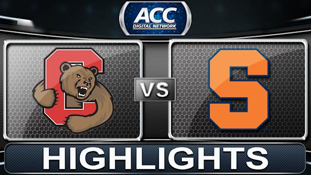 Cornell vs Syracuse | 2013 ACC Basketball Highlights