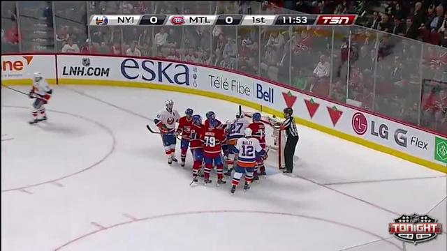 NY Islanders Islanders at Montreal Canadiens - 04/10/2014