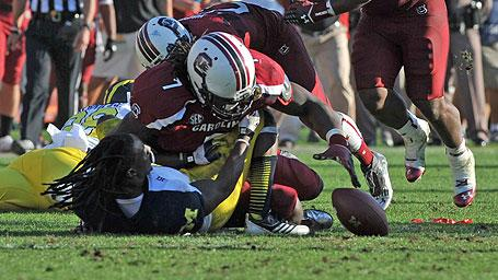 How Spurrier Coaches Up Clowney