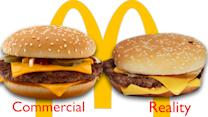 McDonald's Ads Vs. The Real Thing