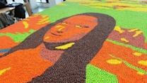 World's Largest Skittles Art Mosaic Revealed