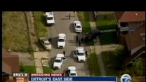 Police chase in Detroit
