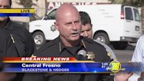 Chief Dyer holds press conference on Fresno mass shooting