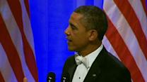 Obama Thanks Troops at Commander in Chief Ball