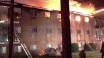 3 injured in Delaware County apartment blaze