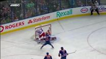 Scrivens makes toe save on Nash's breakaway
