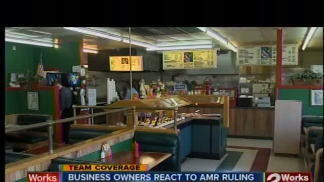 Business owners react to AMR ruling
