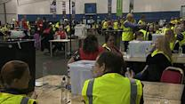 Raw: Scottish Independence Vote Counting Begins