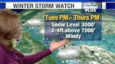 Britta Previews Upcoming Storm