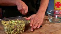 Quick Tip - Sub Pistachios for Cheese on Pasta