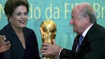 World Cup win for Brazil's Rousseff