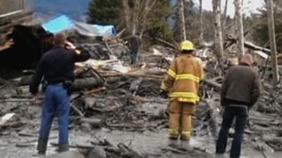 Mudslide Devastation 'Unrelenting and Awesome'