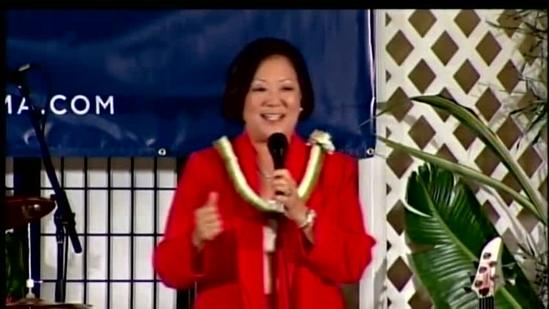 Hawaii elects first female Senator Mazie Hirono