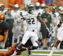 USF DB Hassan Childs arrested after incident that left him with gunshot wounds