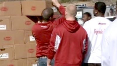 Hogs Help Fight Hunger