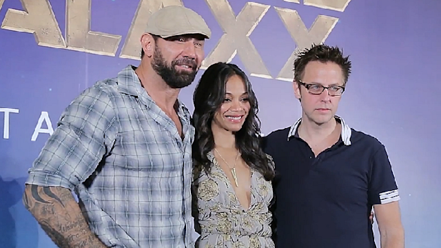'Guardians of the Galaxy' stars talk about roles and make-up