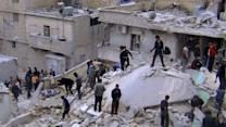 Possible chemical weapons in Syria