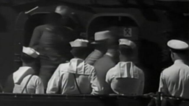 Rare Film Shows FDR Pushed in Wheelchair