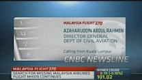 Malaysia's Civil Aviation: Search area enlarged on Tuesda...