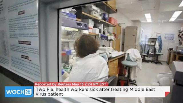 Two Fla. Health Workers Sick After Treating Middle East Virus Patient