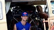 MLB player lives in a van next to dumpsters