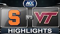Syracuse vs Virginia Tech | 2014 ACC Basketball Highlights