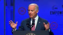 Biden Talks Economy and Civil Rights