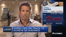 GoPro CEO defends company as stock drops 3 percent