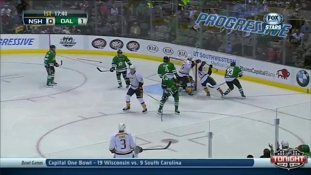 Nashville Predators at Dallas Stars - 12/27/2013